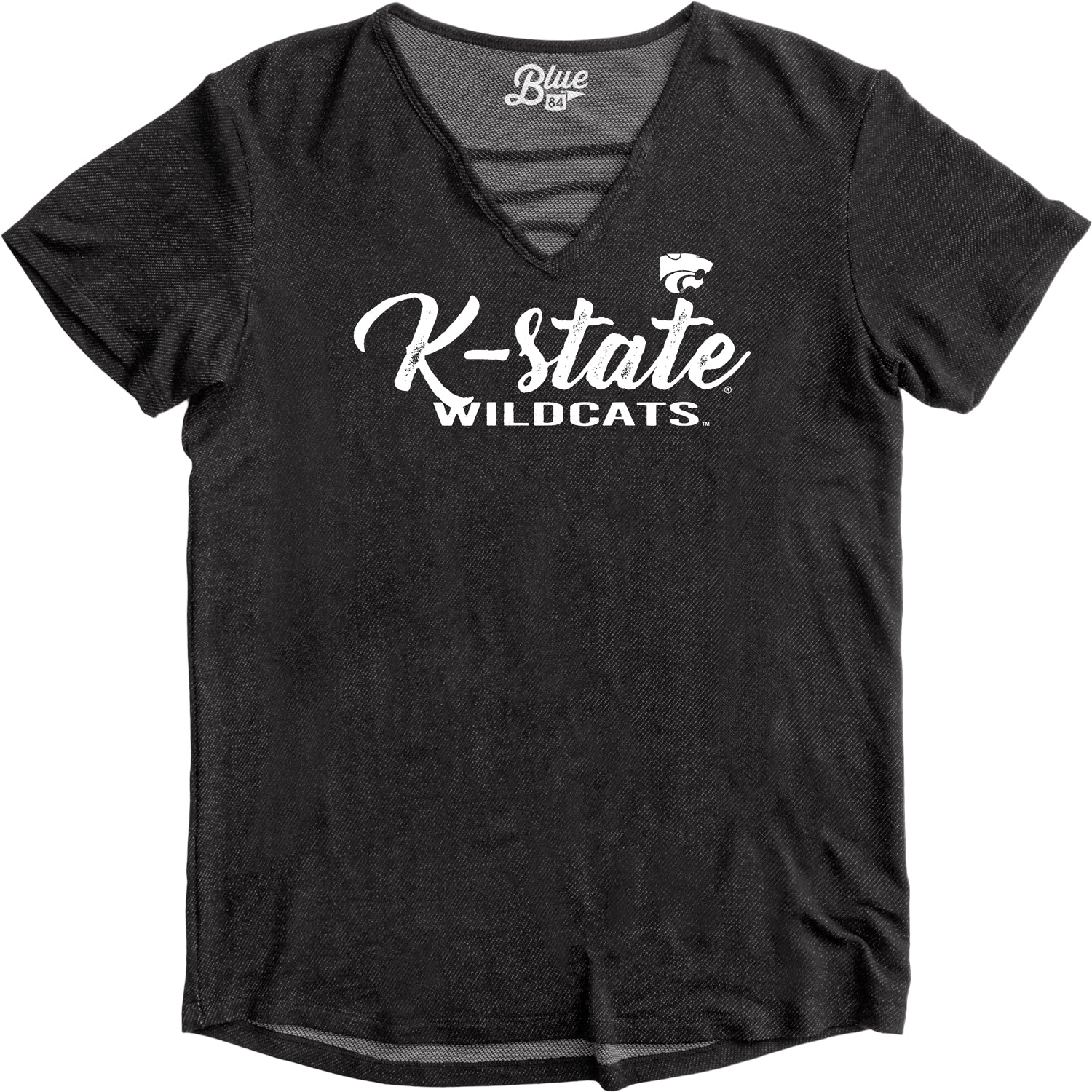 Kansas State Wildcats Juniors Alexa Strappy V-Neck Tee - 2007349
