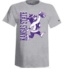 Kansas State Wildcats Champion Youth Basketball Willie T-Shirt - 2007393