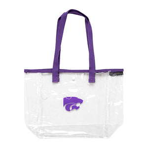 Kansas State Wildcats Logo Brands Stadium Approved Clear Bag - 2007408