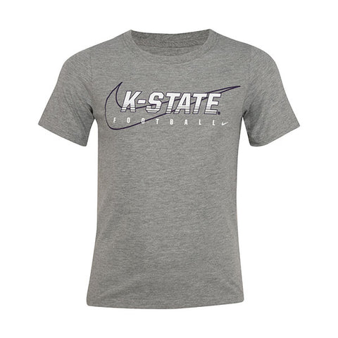 Kansas State Wildcats Nike Preschooler 2019 Facility Cotton Short Sleeve T-Shirt - 2007410