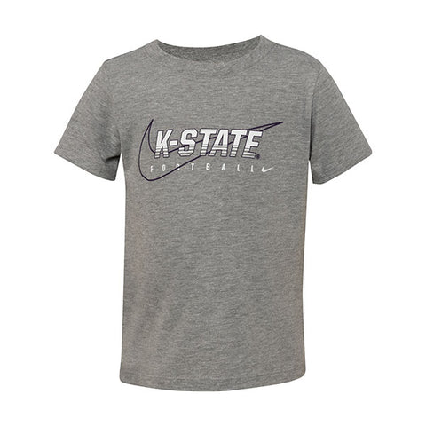 Kansas State Wildcats Nike Toddler 2019 Facility Cotton Short Sleeve T-Shirt - 2007411