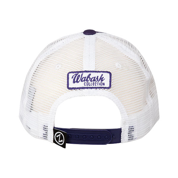 Kansas State Wildcats Wabash Collection Vintage K Logo Purple Trucker Mesh Hat - 2007447