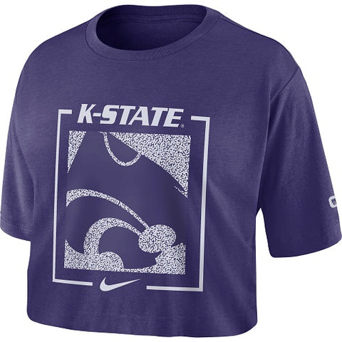 Kansas State Wildcats Nike Women's Dry Crop T-Shirt - 2007485
