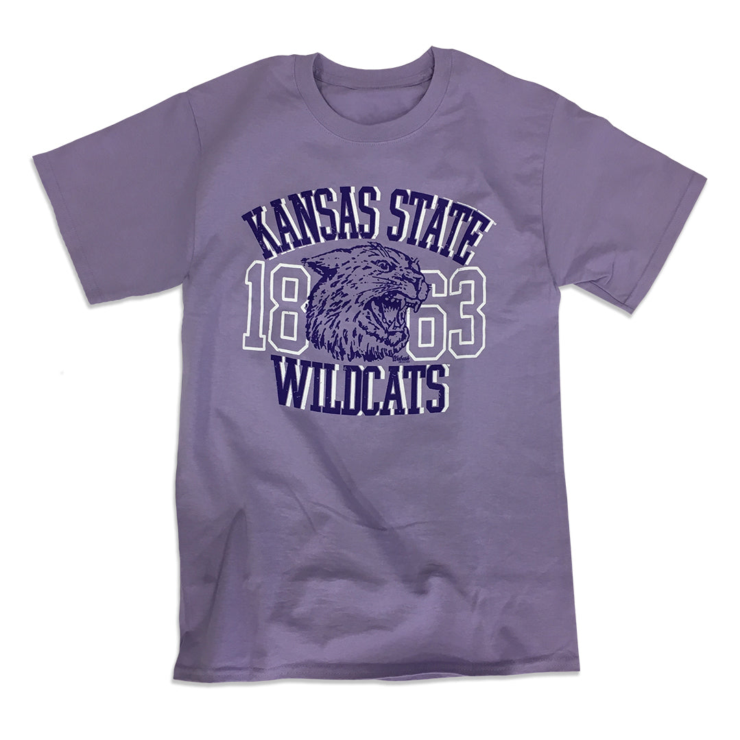 Kansas State Wildcats Lavender Wabash Collection T-Shirt - 2007543