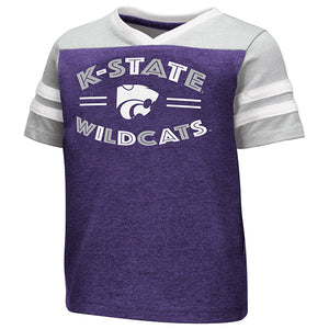 Kansas State Wildcats Toddler Girls Good Feathers Short Sleeve T-Shirt - 2007566