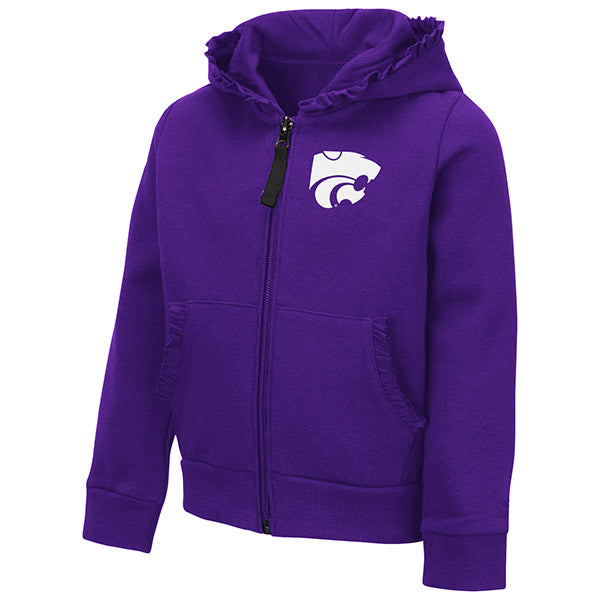 Kansas State Wildcats Toddler Girls Vina Full Zip Hoodie - 2007570