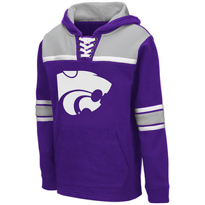 Kansas State Wildcats Youth Billie Hockey Pullover Sweatshirt - 2007572