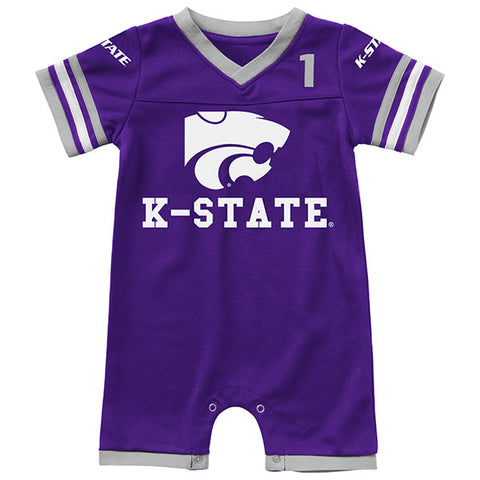 Kansas State Wildcats Bumpo Infant Boys Football Romper - 2007589