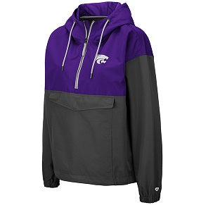Kansas State Wildcats Women's Dolce Anorak Windbreaker Jacket - 2007597