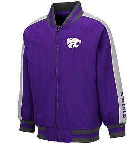 Kansas State Wildcats Youth Codger Full Zip Jacket - 2007600