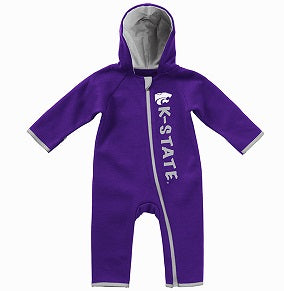 Kansas State Wildcats Scount Infant Boys Onesie Romper - 2007601