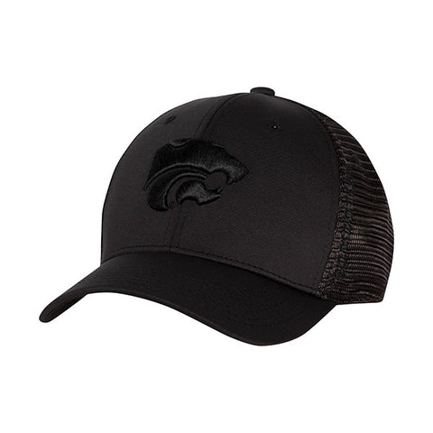 Kansas State Wildcats 1Fit Black Chatter Cap - 2007610