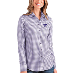 Kansas State Wildcats Antigua Women's Structure 3/4 Sleeve Shirt - 2007630