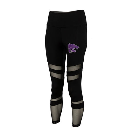 Kansas State Wildcats Ladies Interval Legging with Pockets - 2007645