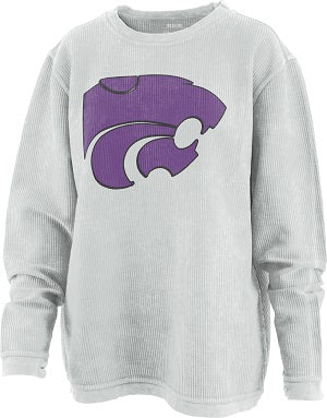 Kansas State Wildcats Walmsley Two-Sided Comfy Cord Sweatshirt - 2007659