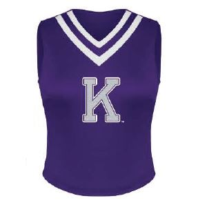 Kansas State Wildcats Wabash Collection Youth Girls Cheer Shell - 2007664