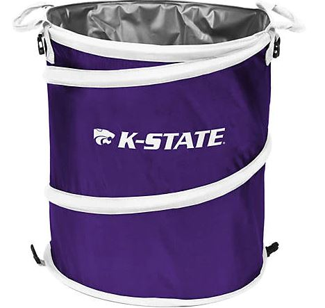Kansas State Wildcats Collapsible 3-N-1 Cooler - 2007667