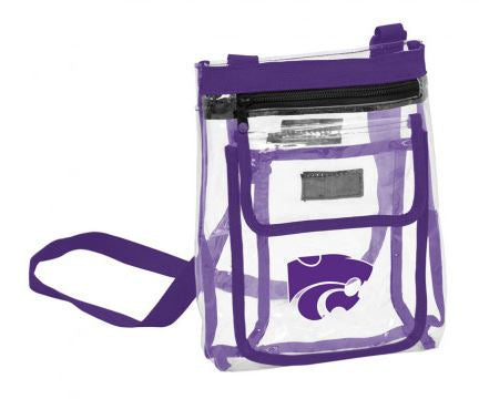 Kansas State Wildcats Clear Crossbody with Pockets - 2007669