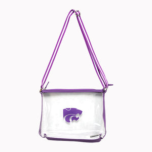 Kansas State Wildcats Simple Clear Stadium Tote - 2007687