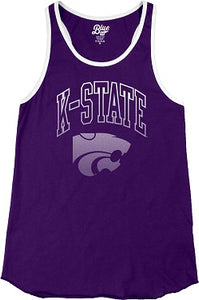 Kansas State Wildcats Women's Lexi Ringer Tank Top - 2007707