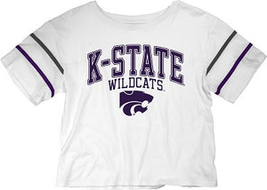 Kansas State Wildcats Women's Carly Football T-Shirt - 2007708