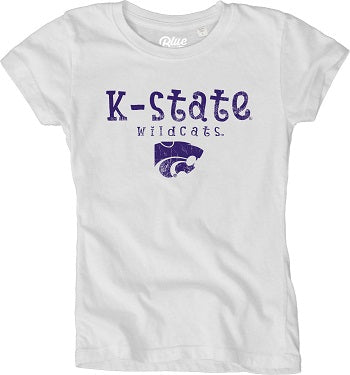 Kansas State Wildcats Youth Girls Dyed T-Shirt - 2007718