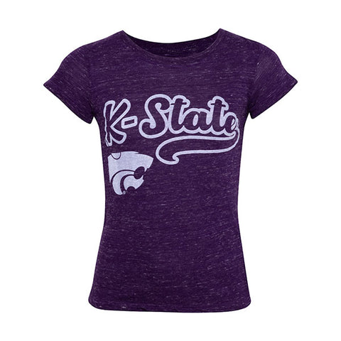Kansas State Wildcats Youth Girls Confetti T-Shirt - 2007719