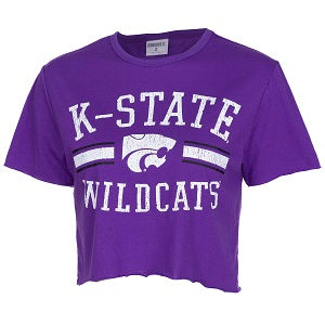 Kansas State Wildcats Women's Divine Crop T-Shirt - 2007731