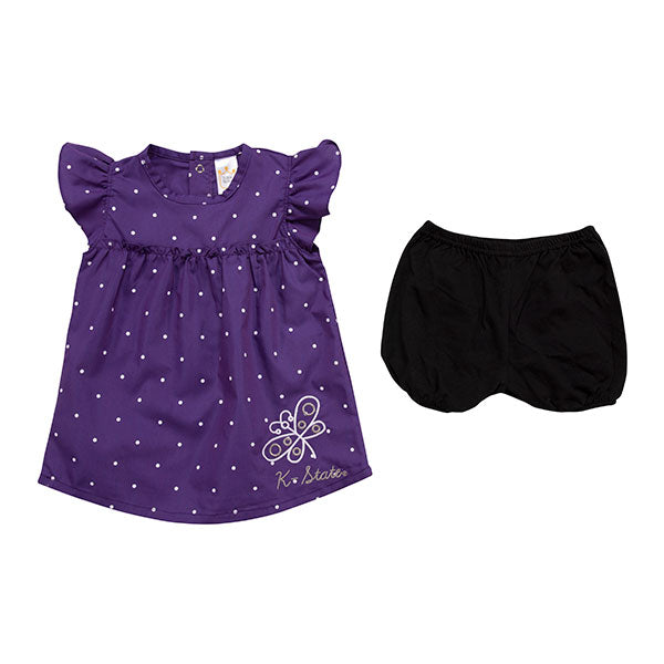 Kansas State Wildcats Infant Chambray 2 Piece Set - 2007752
