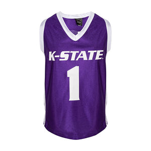 Kansas State Wildcats Youth Basketball Jersey - 2007754
