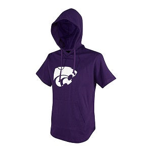 Kansas State Wildcats Youth Short Sleeve Hoodie T-Shirt - 2007756