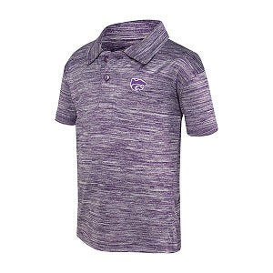 Kansas State Wildcats Toddler Space Dye Golf Polo - 2007776