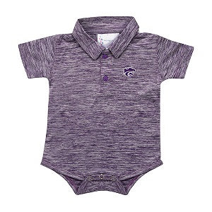 Kansas State Wildcats Infant Space Dye Golf Creeper - 2007777