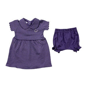 Kansas State Wildcats Infant Peter Pan Dress and Bloomers Set - 2007778