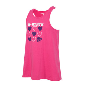 Kansas State Wildcats Girls Tempo Tank - 2007784