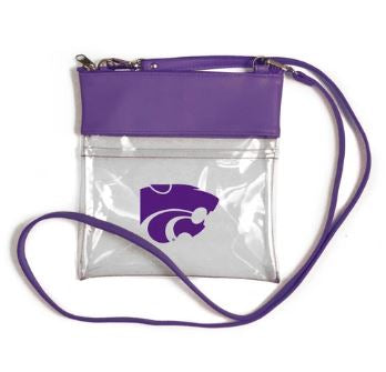 Kansas State Wildcats Clear Gameday Crossbody Purse - 2007800