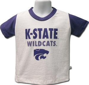Kansas State Wildcats Toddler Contrast Sleeve T-Shirt - 2007802