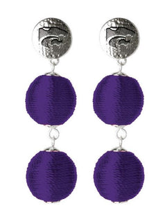 Kansas State Wildcats Sonata Earrings - 2007811
