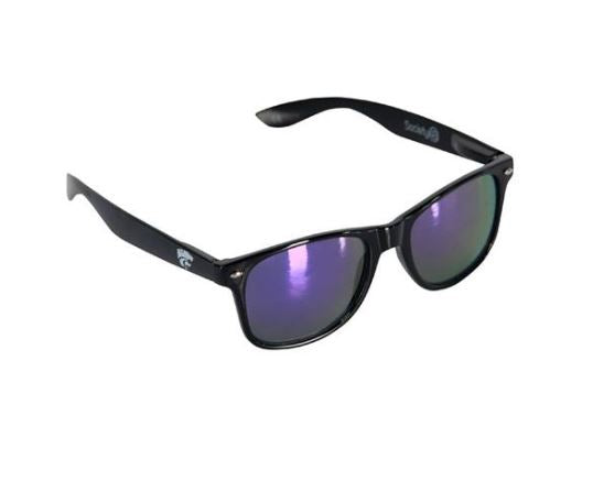 Kansas State Wildcats Black Throwback Sunglasses - 2007814