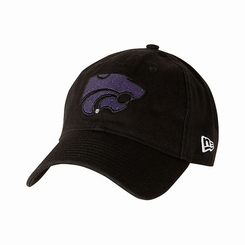 Kansas State Wildcats Black New Era Women's Team Glisten Hat - 2007826
