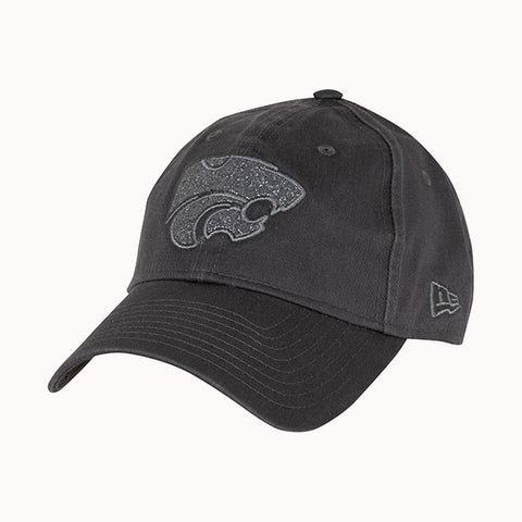 Kansas State Wildcats New Era Women's Graphite Team Glisten Hat - 2007827