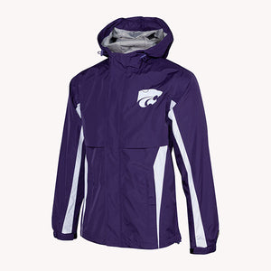 Kansas State Wildcats Men's Waterproof Trailblazer Jacket - 2007860