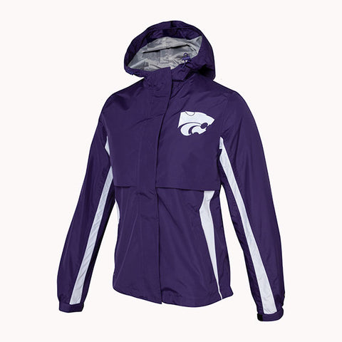 Kansas State Wildcats Ladies Waterproof Trailblazer Jacket - 2007861