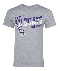 Kansas State Wildcats Champion Youth Baseball Cotton Short Sleeve T-Shirt - 2007866