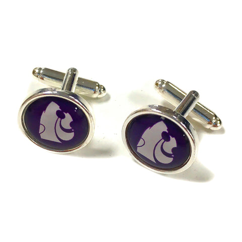 Kansas State Wildcats Powercat Cuff Links - 2007868