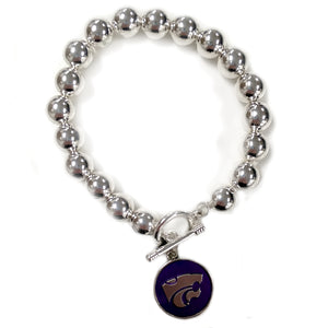 Kansas State Wildcats Society Stretch Bracelet - 2007871