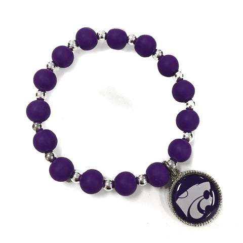 Kansas State Wildcats Leah Stretch Bracelet - 2007872