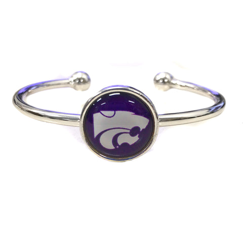 Kansas State Wildcats Bangle Cuff Bracelet - 2007873