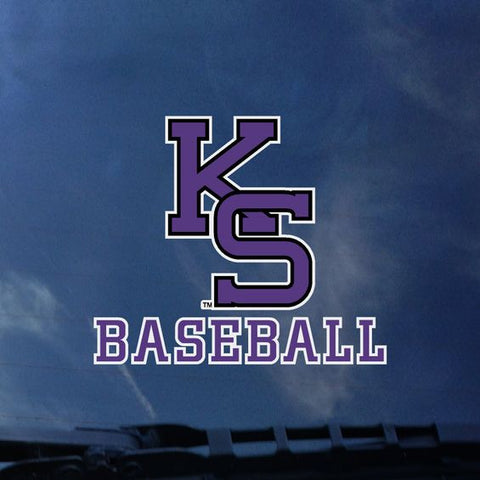 Kansas State Wildcats Baseball Color Shock Decal - 2007886