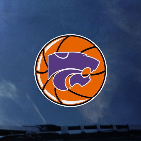 Kansas State Wildcats Basketball Color Shock Decal - 2007887